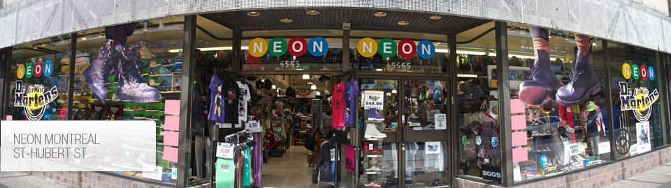 Neon Clothing Corporation St-hubert